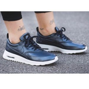 Nike Shoes - Nike Women's Air Max Thea Metallic Blue, Size 8